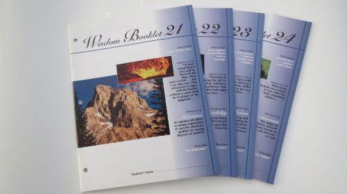 Wisdom Booklets