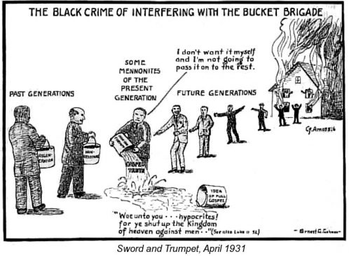 The Black Crime of Interfering With the Bucket Brigade
